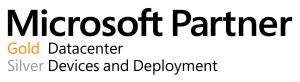 Microsoft Partnership: Gold Datacenter; Silver Devices and Deployment