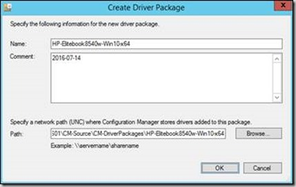 Driver Package